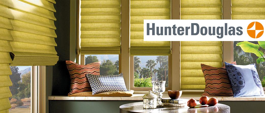 Hunter Douglas Window Fashions available at Abbey Carpet & Floor of Hawaii.